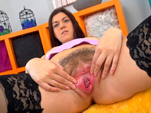 Corazon Del Angel Strips From Skirt And Stockings - Compilation - WeAreHairy