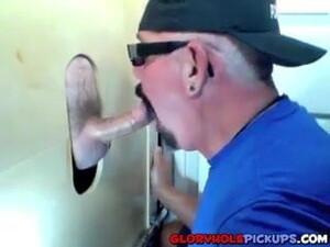 Shy Guy Getting A Hot Bj In A Gloryhole
