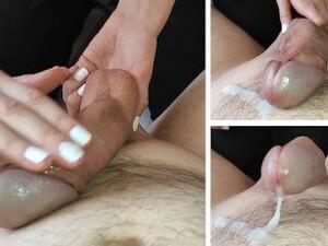 RUINED ORGASM - Cock And Balls Massage - CLOSE UP - ASMR