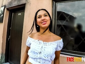 Hard Face Fuck For Beautiful Mexican