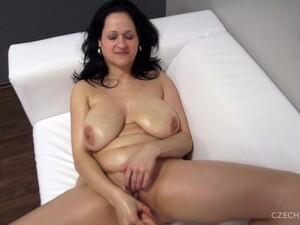 Gros seins,Brunette,Casting,Porno Tchèque,Vue subjective