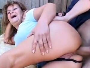 Granny Anal At The Farm.