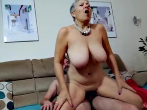 British Big Tits Granny