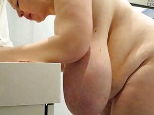 Spanish Girl With Massive Tits