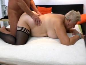 性感胖女人,奶奶,长袜