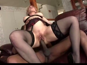 Busty Cougar Ass Destroyed