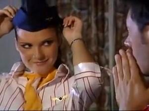 Handjob From Horny Stewardess