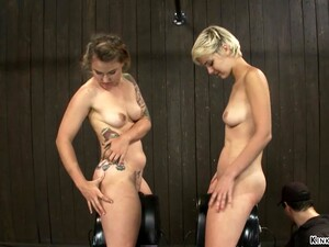 Lesbian Slave Are Sticked On Sybians