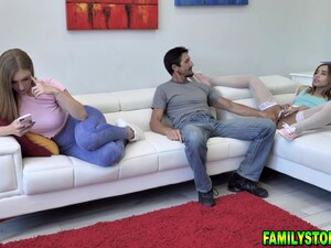 Step Uncle Fingering His Step Niece Alita Lee And She Gets So Wet