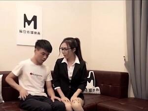Pornô chinês,Charmosas,Escritório,Seduzido