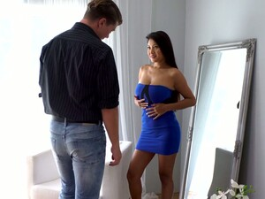 Horny Guy Fucks Big Boobs And Juicy Asian Pussy Of Cristina Miller