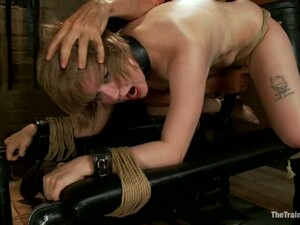 Chained Alani Pi Gets Fucked In Her Ass From Behind