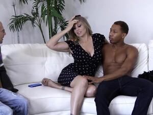 Cuckold Hubby Enjoys Watching His Wife Julia Ann Having Interracial Sex
