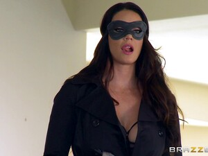 Mysterious Black-haired Chick Gives The Blonde A Strap-on Treatment