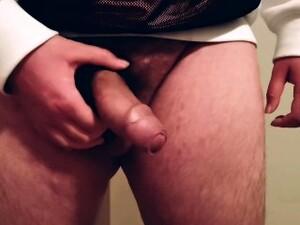 Joey Phoenix Stroking Cock