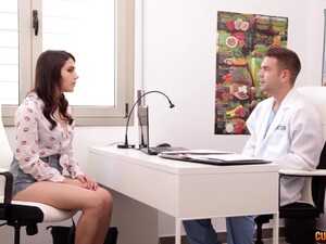 Handsome Plastic Surgeon Fucks Seductive Patient Valentina Nappi After Breast Examination
