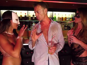 The Ladies Man Picks Up Two Girls In The Club And Things Turn Sexual Fast