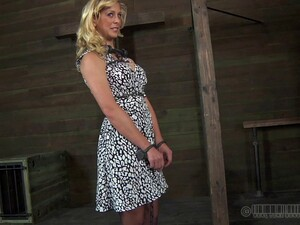 Cherie Is A Perfect Blonde Who Likes Getting Into BDSM Adventures!