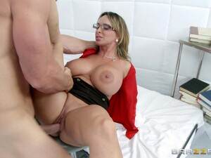 Hardcore Reality Clip With Lewd Blonde Doctor Holly Halston