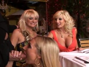 Fucking Three Smoking Hot Milfs At A Time Is A Gift