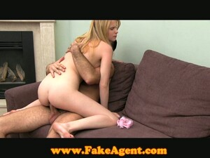 Skinny Blonde Girl Gets Fucked Deep In Her Tight Pussy