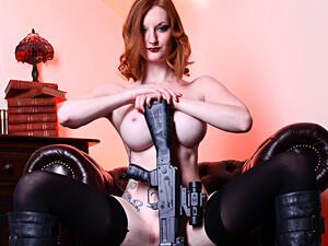 Zara Du Rose In The Black Widow - CosplayBabes