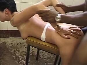 Big Omar Pounds Woman In Bathroom