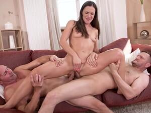 Alyssa Reece - Dirty Riding Two Dicks