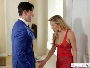 Jaw-dropping MILF Cherie Deville Is So Into A Wild Cock Ride And Hot Doggy
