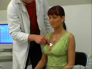 European Redhead Gets Fucked And Covered In Cum By Horny American Doctor