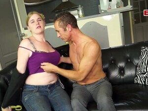 German Blonde Chubby Teen Try Porn