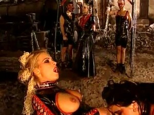 Sexy Babes In Chains Get Fucked By Their Master