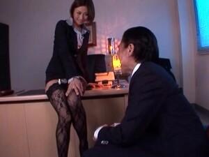 Sexy Asian Secretary Akari Asahina In Lingerie Gets Fucked Hard