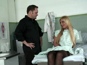 Sexy Blonde Chick Phoenix Marie Loves Getting Fucked By Her Doctor