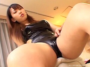 Busty Babe Ai Sayama Gets Talked Into Jerking A Cock With Her Feet