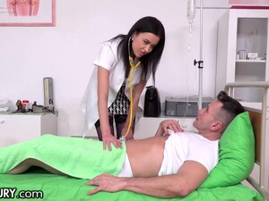 Nurse Nicole Has Sex With Her Patient And That Babe Can Fuck