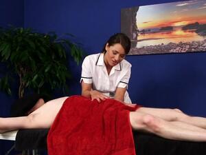 Clothed Massage And Handjob