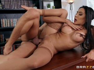 Milf Enjoys One Of Her Students Fucking Her On The Desk