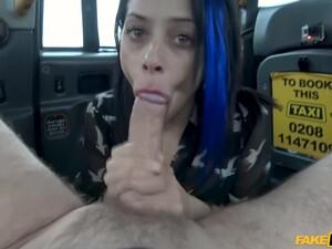 Myla Elyse - Blue-haired Hooker Enjoys Hardcore Anal Sex
