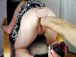 Fisting Her Teen Twat And Pissing On Her Face