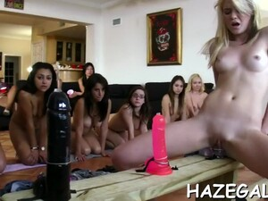 Gals Play With Strapons Teen Film 6