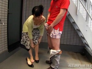 Çift,Japon pornosu,Olgun,MILF