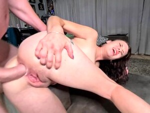 Getting My Holes Fucked From Pussy To Ass To Mouth