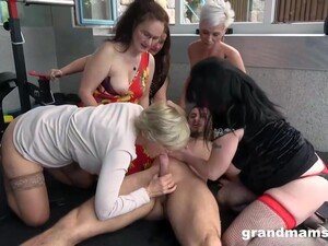 One Lucky Guy Vs Of Hot Gilfs