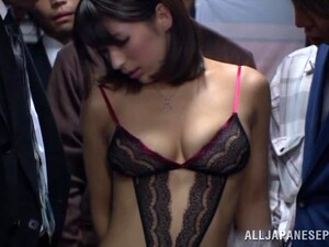 Hot Ass Japanese Cowgirl Nami Hoshino In A Naughty MMF Threesome