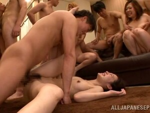 Japanese Group Sex Can Be So Nasty Sometimes