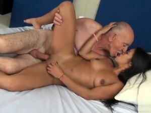 Argentinian Grandpa Big Cock