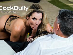 Kayla Paige Saves Her Husband's Job By Fucking His Boss - Bigcockbully