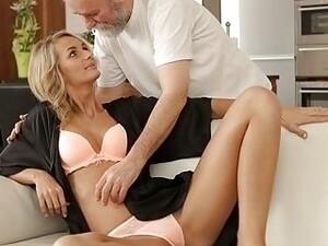 Блондинки,Минет,Пара,Чешское порно,Старик