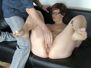 Older Girlfriend Fisted